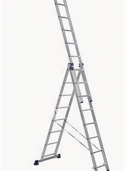 Лестницы и стремянки - Лестницы секционные Elkop Лестница алюминиевая…, 0