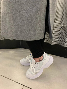 Кроссовки и кеды - Кроссовки белые Adidas Falcon, 0