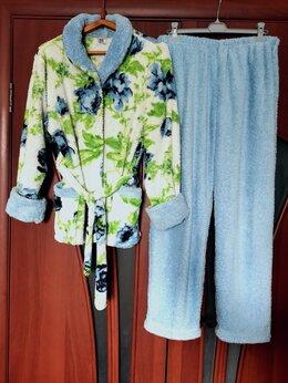 Домашняя одежда - Махровый костюм женский размер 44-48, 0