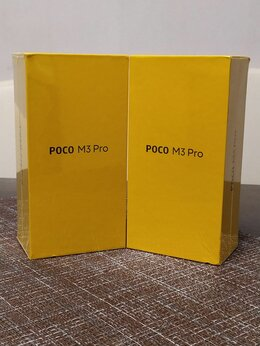 Мобильные телефоны - Xiaomi Poco M3 pro 5G 6/128 NFC Black гарантия 1г, 0