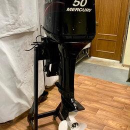 Двигатель и комплектующие  - 2х-тактный лодочный мотор Mercury ME 50 elpto Б/У, 0