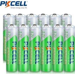 Прочие комплектующие - Аккумулятор Pkcell 2200mAh AA / 850mAh AAA, 0