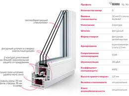 Окна - пластиковые окна Rehau Thermo 76, 0