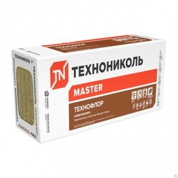 Изоляционные материалы - Утеплитель для пола Технофлор Стандарт (8 плит) 1200х600 толщ. 30 мм, 0