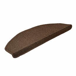Коврики - Коврик на ступеньку Vortex 25х65 см коричневый…, 0