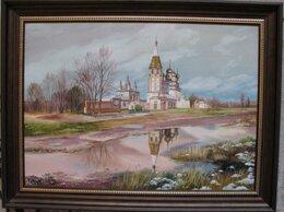 Картины, постеры, гобелены, панно - Храмовый комплекс в селе Парское. 50х70см, 0