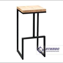 Мебель для учреждений - Барный стул без спинки (отилос.мет 015), 0