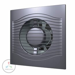 Вентиляторы - Вентилятор вытяжной DiCiTi SLIM 4C Dark gray metal, 0
