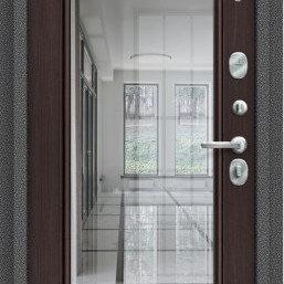 Входные двери - Дверь входная S 104.П61  Антик Серебро/Wenge Veralinga, 0