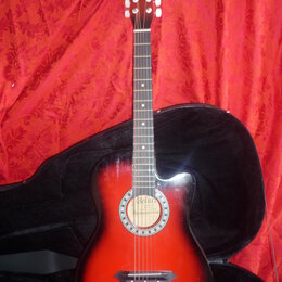 Акустические и классические гитары - Акустическая гитара Belucci BC-3810 RDS, 0