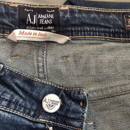 Джинсы - Мужские джинсы Armani Jeans,  все размеры, м. Аннино, 0