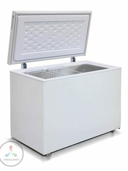 Морозильники - Морозильный ларь Бирюса 355VK, 0