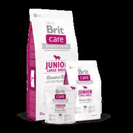 Корма  - Корм Brit Care Junior Large Breed для щенков крупн, 0