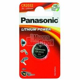 Батарейки - Батарейка Panasonic СR 2025 EP Japan 1шт/бл, 0