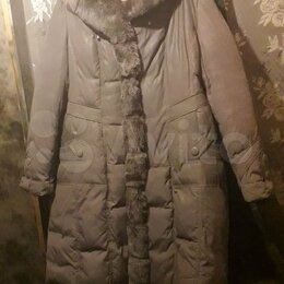 Пуховики - Пальто- пуховик, 0