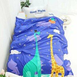 Постельное белье - Детское постельное бельё 1,5 спальное сатин, 0