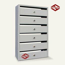 Почтовые ящики - Почтовый ящик Оптима Компакт 6-и секционный (Торговое оборудование), 0