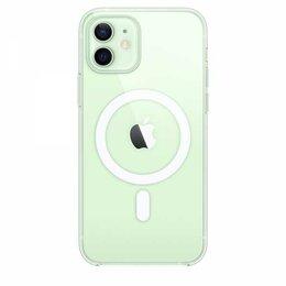 Защитные пленки и стекла - Прозрачный чехол MagSafe для iPhone 12 и 12 Pro, 0