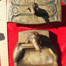 Статуэтки и фигурки - бронзовые пресс папье и пепельница с фигурами орлов,венская бронза, 0
