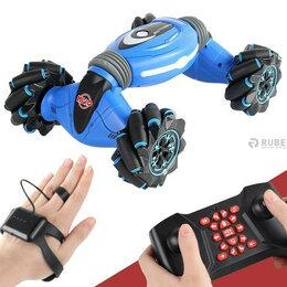 Радиоуправляемые игрушки - Машинка перевертыш STUNT с управлением жестами и…, 0