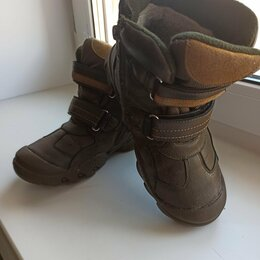 Сапоги, полусапоги - Зимние ботинки на мальчика, 0