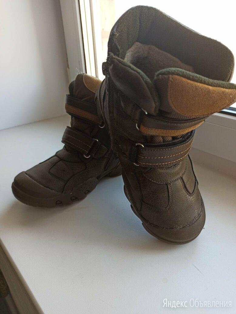 Зимние ботинки на мальчика по цене 300₽ - Сапоги, полусапоги, фото 0