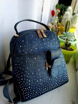 Сумки - Женская сумка-рюкзак , 0