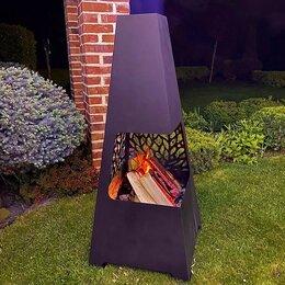 Очаги для костра - Уличный садовый камин очаг на дровах Firesto, 0