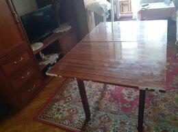 Столы и столики - стол обеденный раскладной полированный, 0