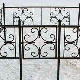Ритуальные товары - Металлическая оградка №84 - изготовим по вашим размерам, 0