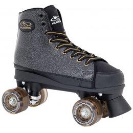 Обувь для спорта - Ролики-квады HUDORA Black Glamour р.36 (черный), 0