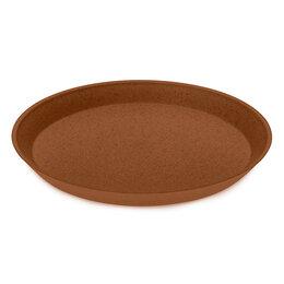 Тарелки - Тарелка коричневая 20,5 см Connect Organic , 0