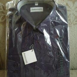 Рубашки - Новая классическая мужская сорочка. Производство: Италия. Размер: L (48-50), 0