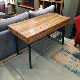 Компьютерные и письменные столы - Стол-бюро для домашнего офиса из массива дерева, 0