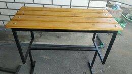 Скамейки - Уличные скамейка и столик, 0