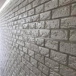 Фактурные декоративные покрытия - Гипсовый кирпич декоративный, 0