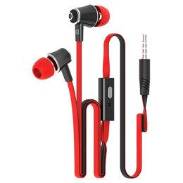 Наушники и Bluetooth-гарнитуры - Наушники Langsdom JM21, красный, 0