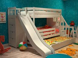 Кроватки - Кроватка с горкой, 0