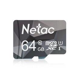 Карты памяти - Карта памяти MicroSD Netac на 64 ГБ. (Новая), 0