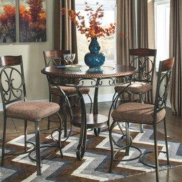 Столы и столики - Американский высокий барный стол D329-13, 0