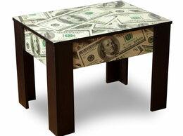 Столы и столики - Журнальный столик ЧС с фотопечатью, 0