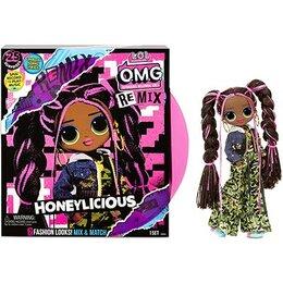 Куклы и пупсы - LOL OMG Remix Honeylicious, 0