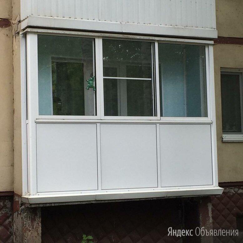 Остекление балконов по цене 3300₽ - Окна, фото 0