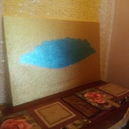 """Картины, постеры, гобелены, панно - Картина""""Авокадо в золотой вазе""""(двухсторонняя), 0"""