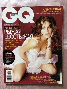 Журналы и газеты - Журнал GQ февраль 2007 Линдси Лоан, Клинт…, 0