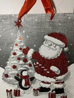 Подарочная упаковка - Нинбо Пакет новогодний подарочный 23*19*18 см, 0