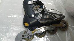 Роликовые коньки - Роликовые коньки ск (Спортив. кол) Abec7 с защитой, 0