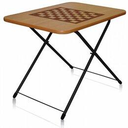 Походная мебель - Стол складной Ника ЛДСП ТСТИ шахматная сетка…, 0