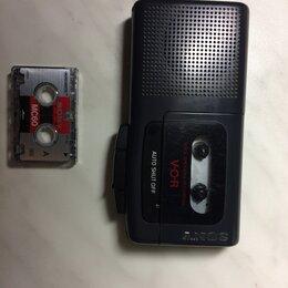 Микрофоны - Sony. Плёночный микрокассетный диктофон, 0