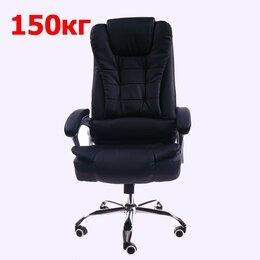 Компьютерные кресла - Новое кресло руководителя КВ 201 черное Усиленое…, 0